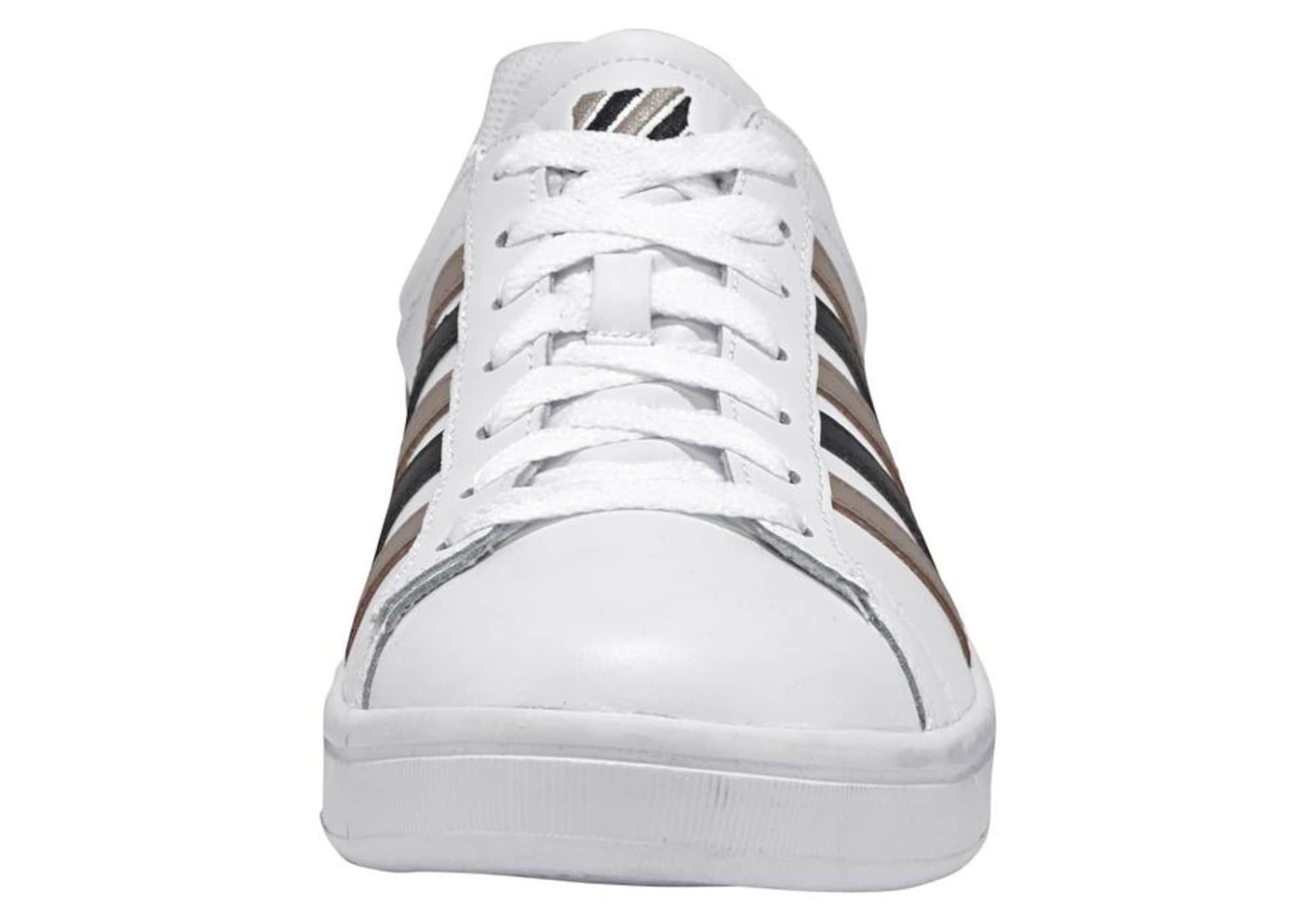K SWISS Sneaker 'Court Winston M' in taupe schwarz weiß