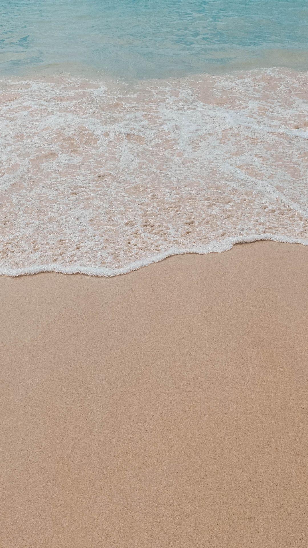 Minimal Soft Sea Wave Beach Wallpaper Beach Wallpaper Minimal Wallpaper Ocean Wallpaper Wallpaper beach waves sea sand coast