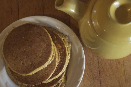 GF Squash Pancakes