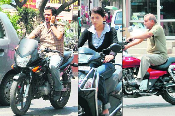 Flout To Treat With Disdain Scorn Or Contempt Motorcyclists