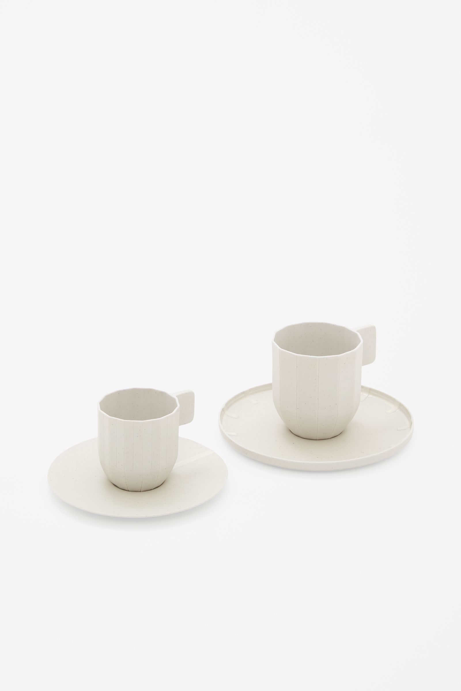 Porcelain Cups & Saucers COS x HAY