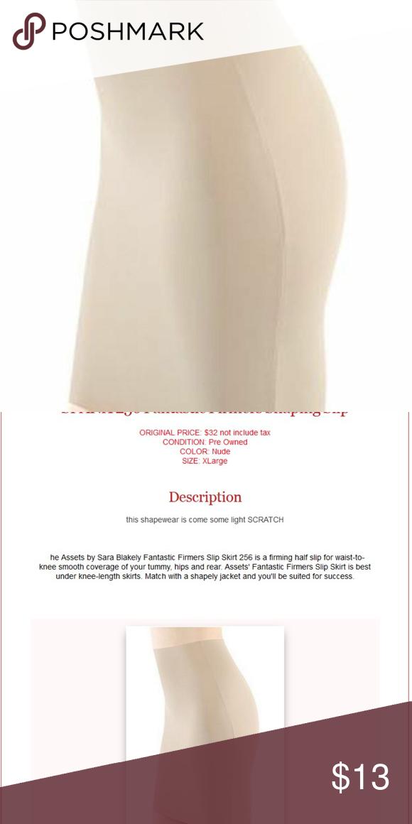 256 Assets by Sara Blakely Fantastic Firmers Slip Skirt