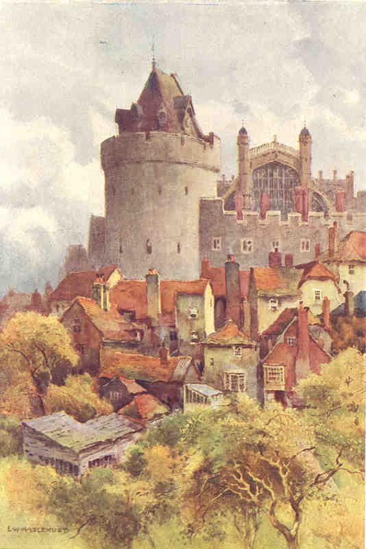 E. W. Haslehust Windsor Tower, pub. 1920 Barn art