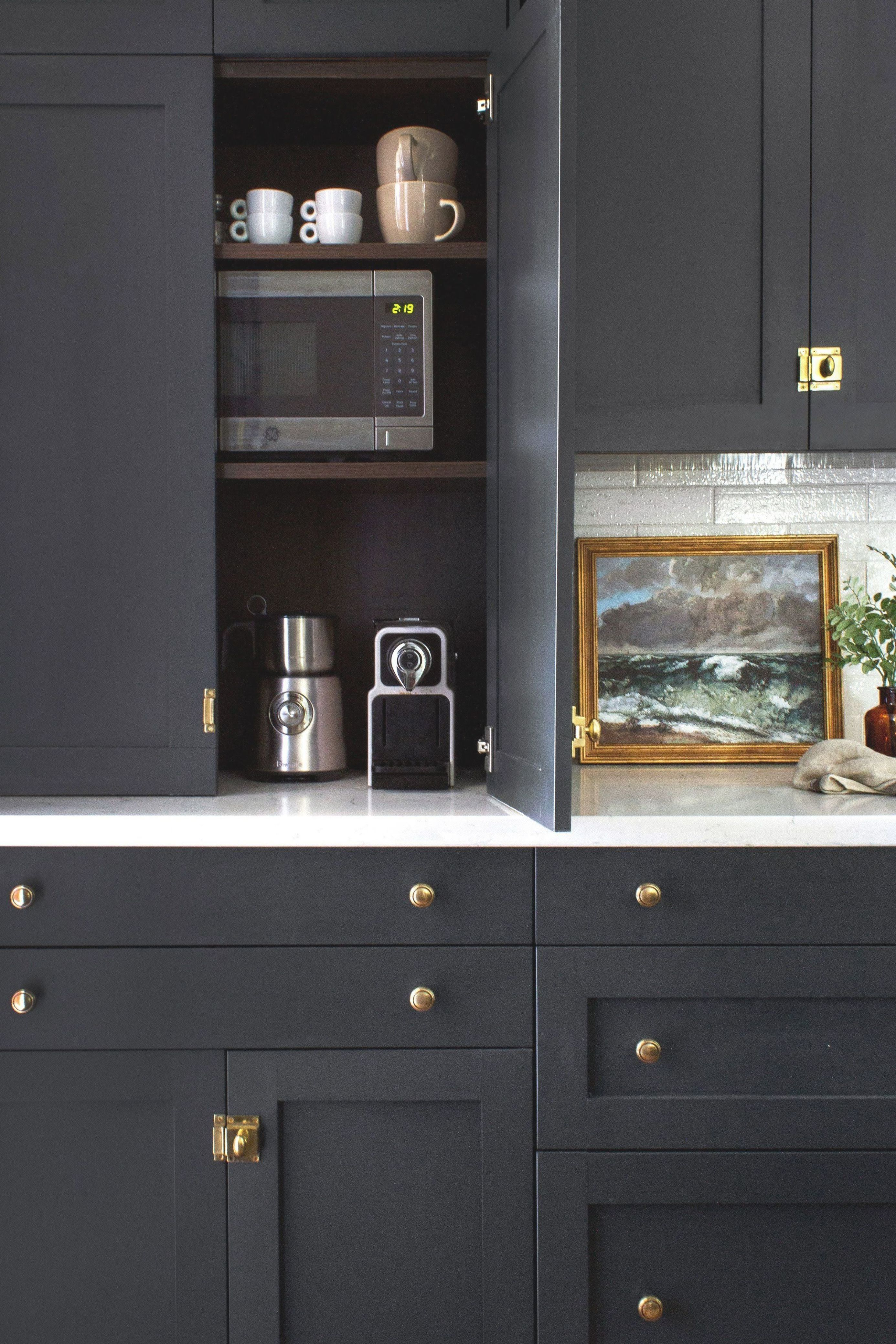 Tall Dark And Handsome Diy Shaker Cabinet Fronts By Semihandmade Complete This Victorian Kitchen Design In 2020 Kitchen Cabinetry Kitchen Cabinets Kitchen Interior