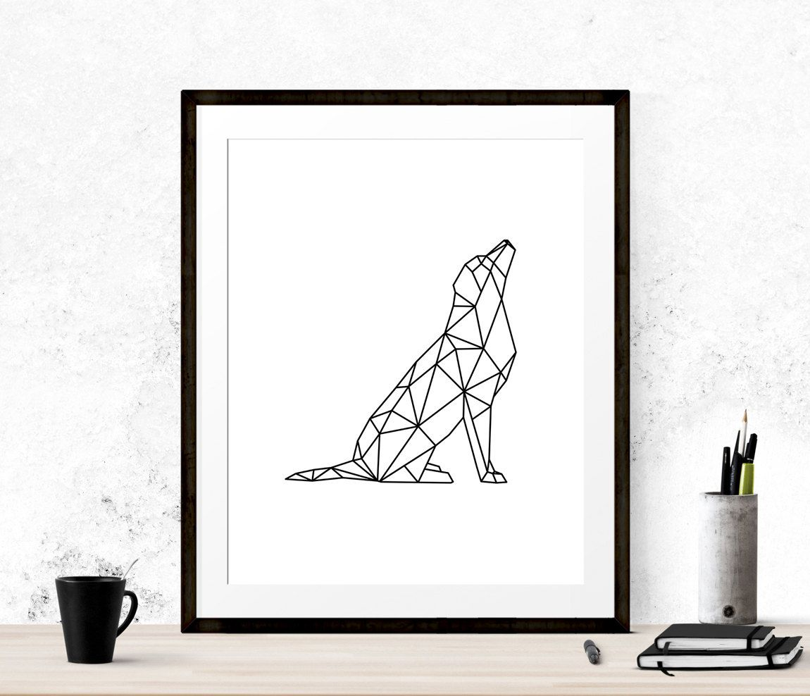 Image Result For Geometric Dog Art
