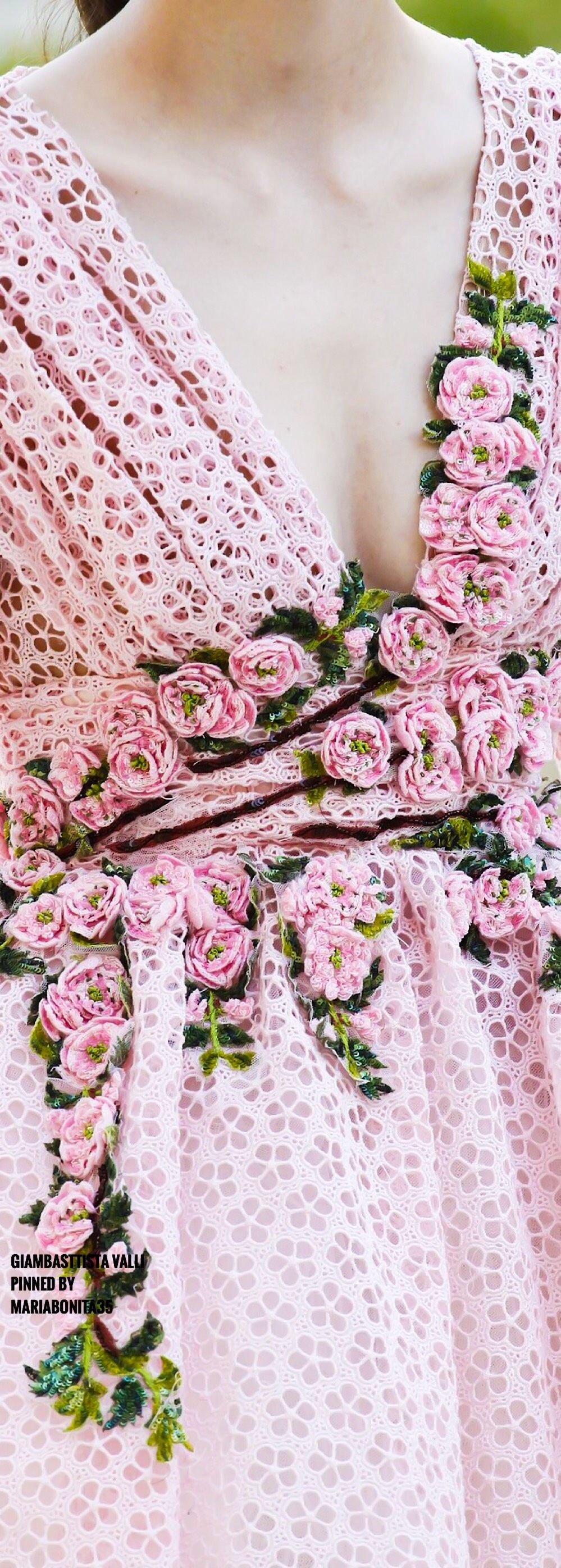 Giambasttista Valli Fall17 Haute Couture Details