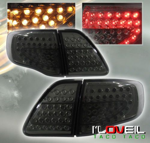 09 10 Toyota Corolla Led Jdm Smoked Tail Lights Lamps