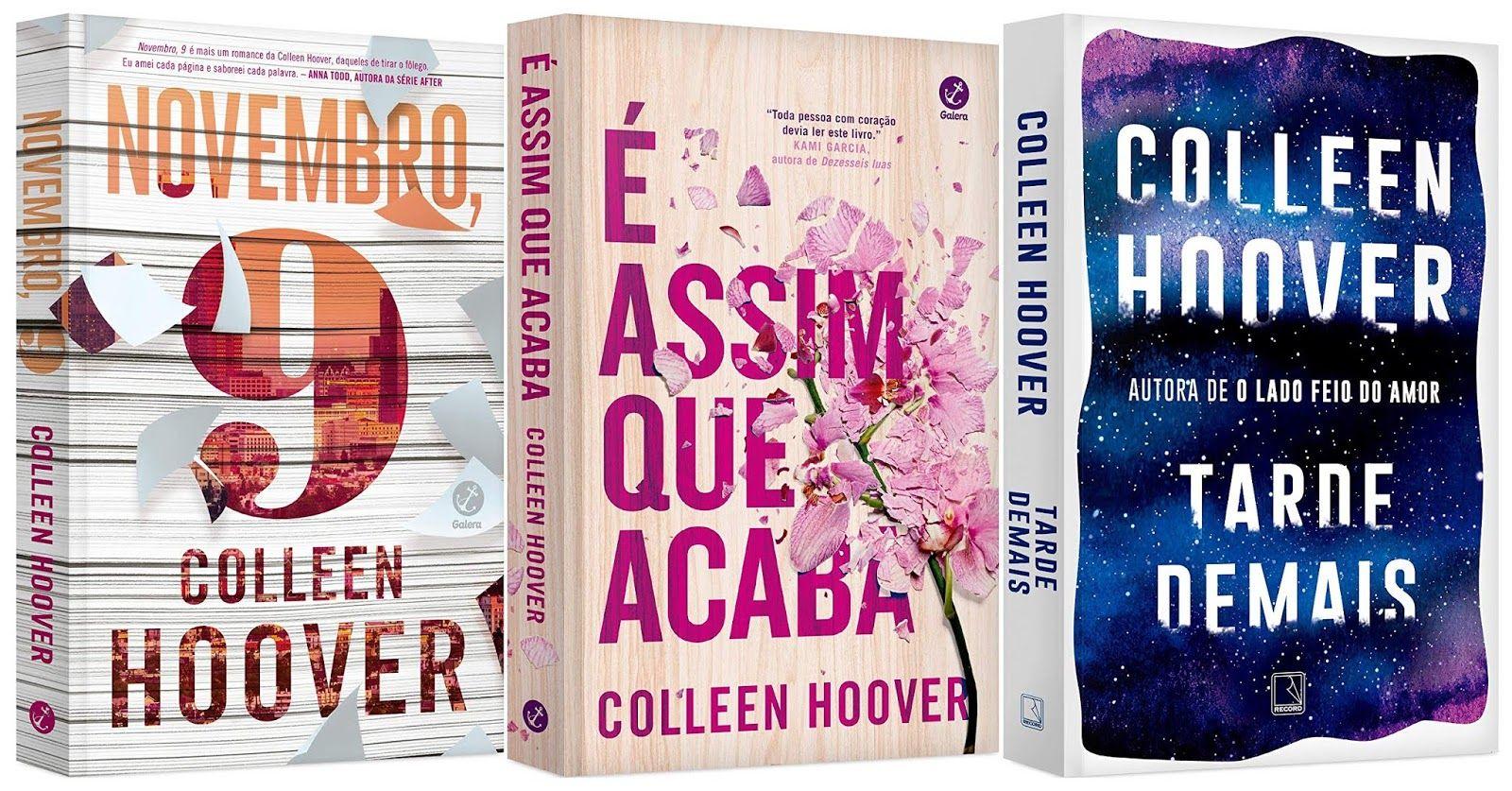 Galera Record Lancara Um Box Com Tres Romances De Colleen Hoover