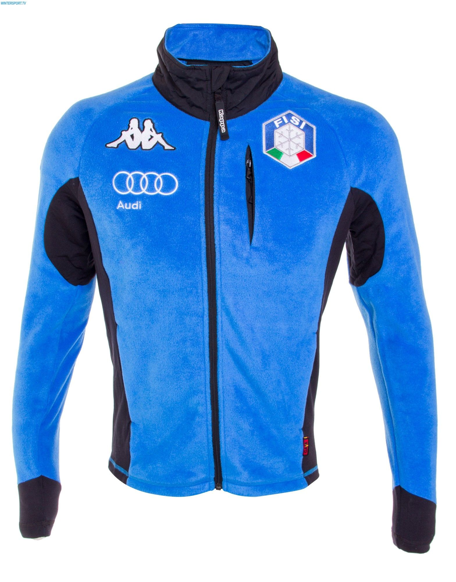Kappa Men Italian Team FISI Fleece Jacket – Azzurro