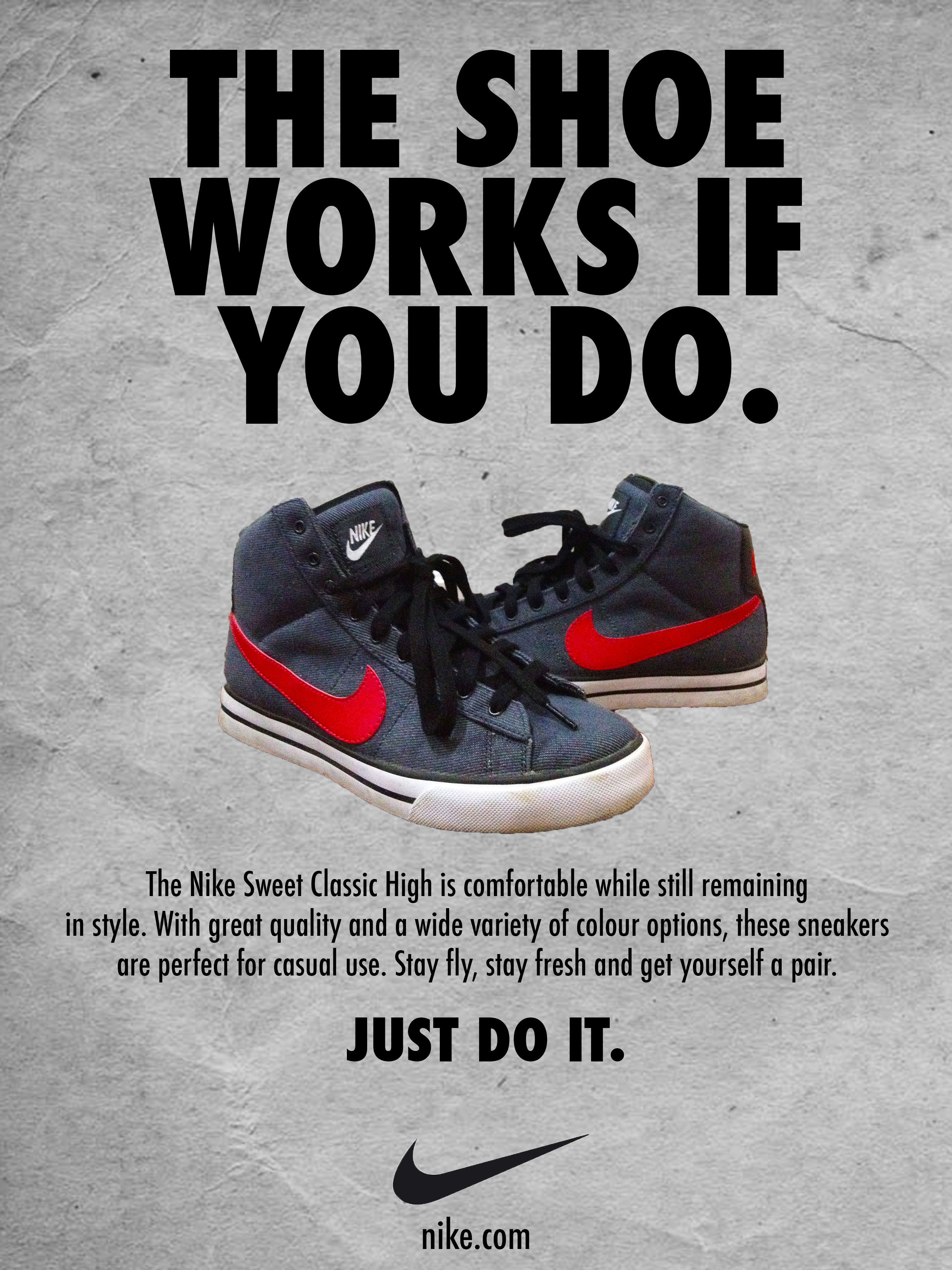 air jordan print advertisement example