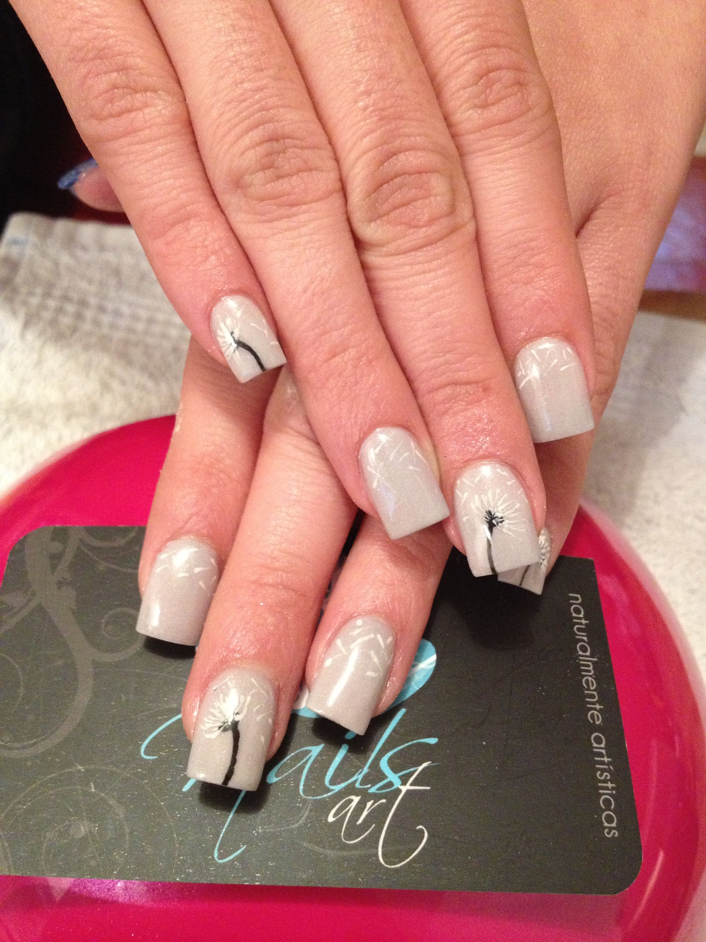 acrylic nails #flower Free Nail Technician Information http://www ...