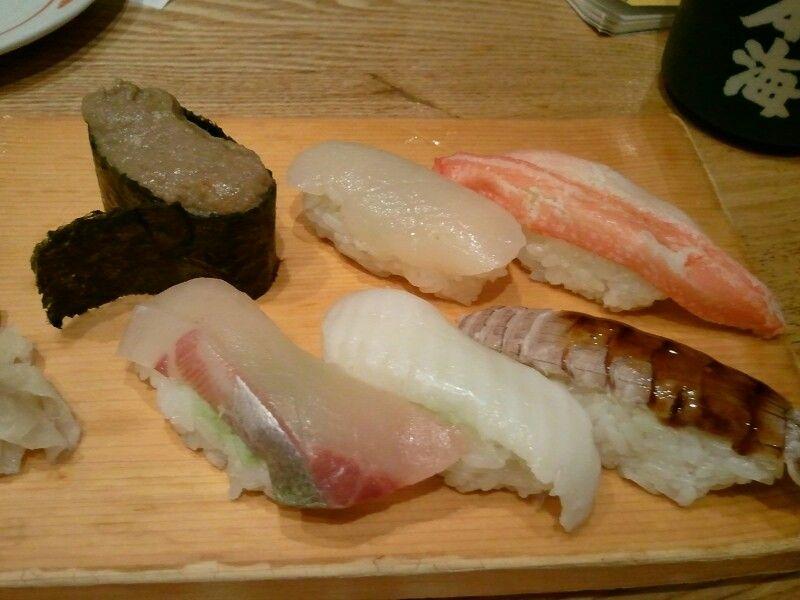 Not famous sushi I like.