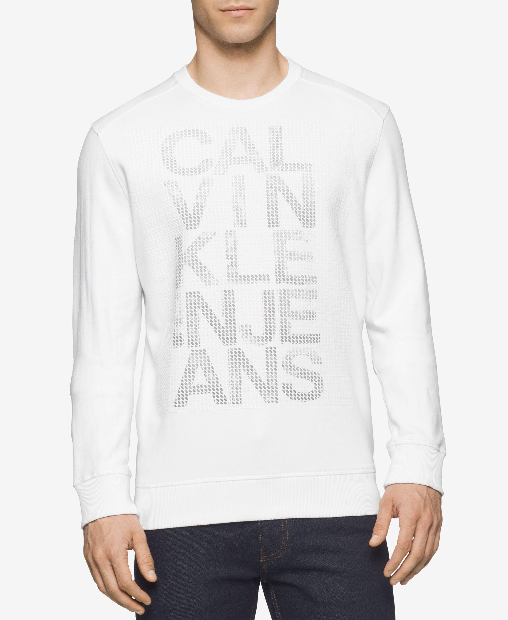 Calvin Klein Jeans Men s Mesh Graphic-Print Logo   Calvin Klein ... 1688afaf5d