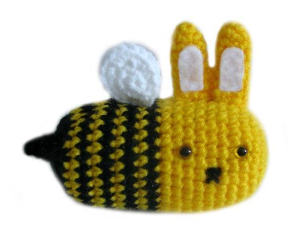 Free Kawaii Amigurumi Patterns : Amigurumi to go free kawaii crochet pattern bunny bee