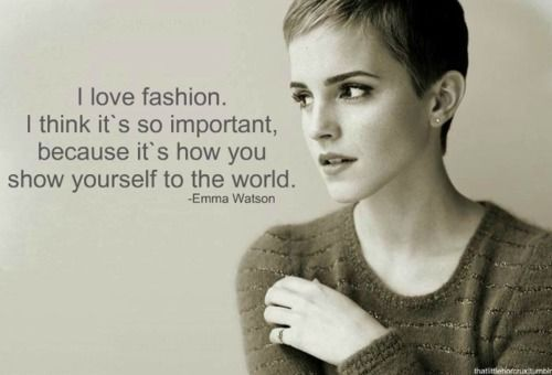 Image result for emma watson fashion quotes sustainable