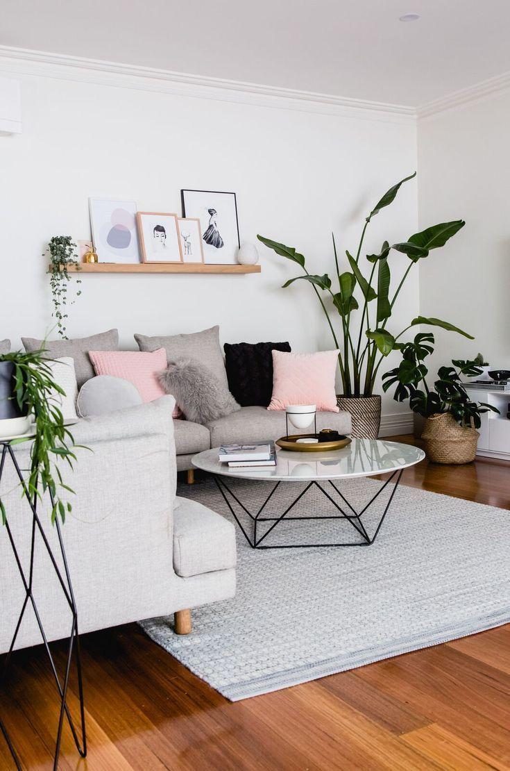 30 stilvolle graue Wohnzimmer-Ideen, die Sie inspirieren   – Home