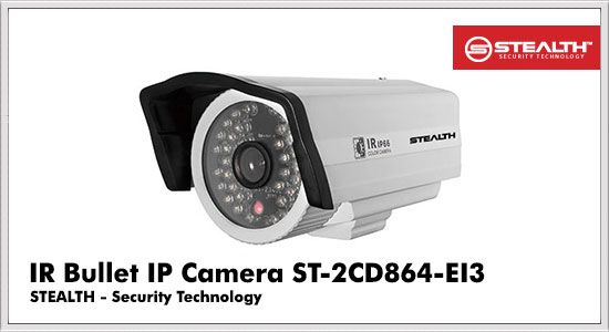 IR Bullet IP Camera ST-2CD864-EI3