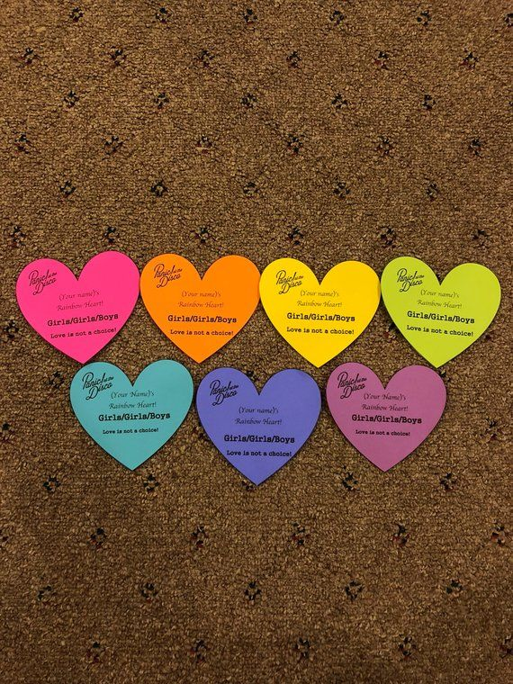 2ab95143 Personalized Rainbow Hearts! Panic! At the Disco in 2019 | Products ...