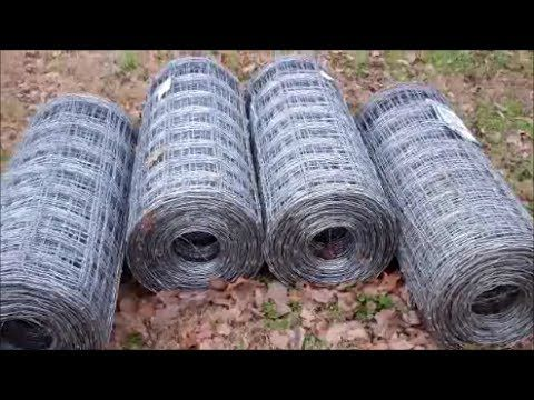 Homemade Woven Wire Unroller Field Fencing De Reeler Youtube