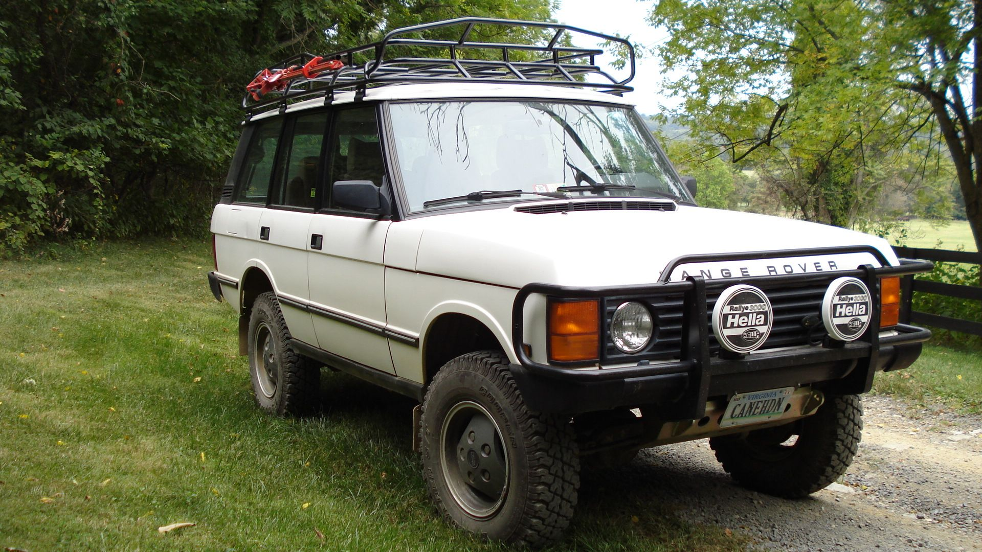 This is the sort of Range Rover Classic I m looking for