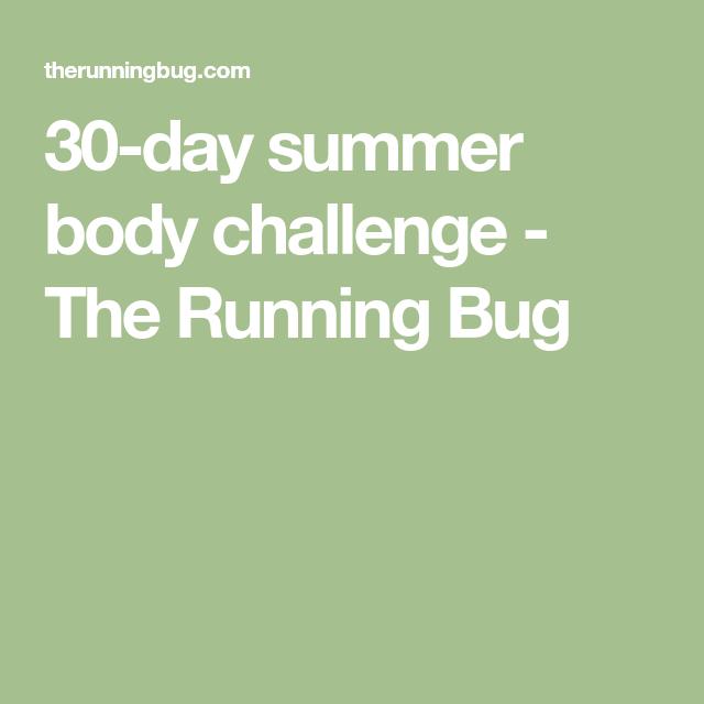 30-day Summer Body Challenge