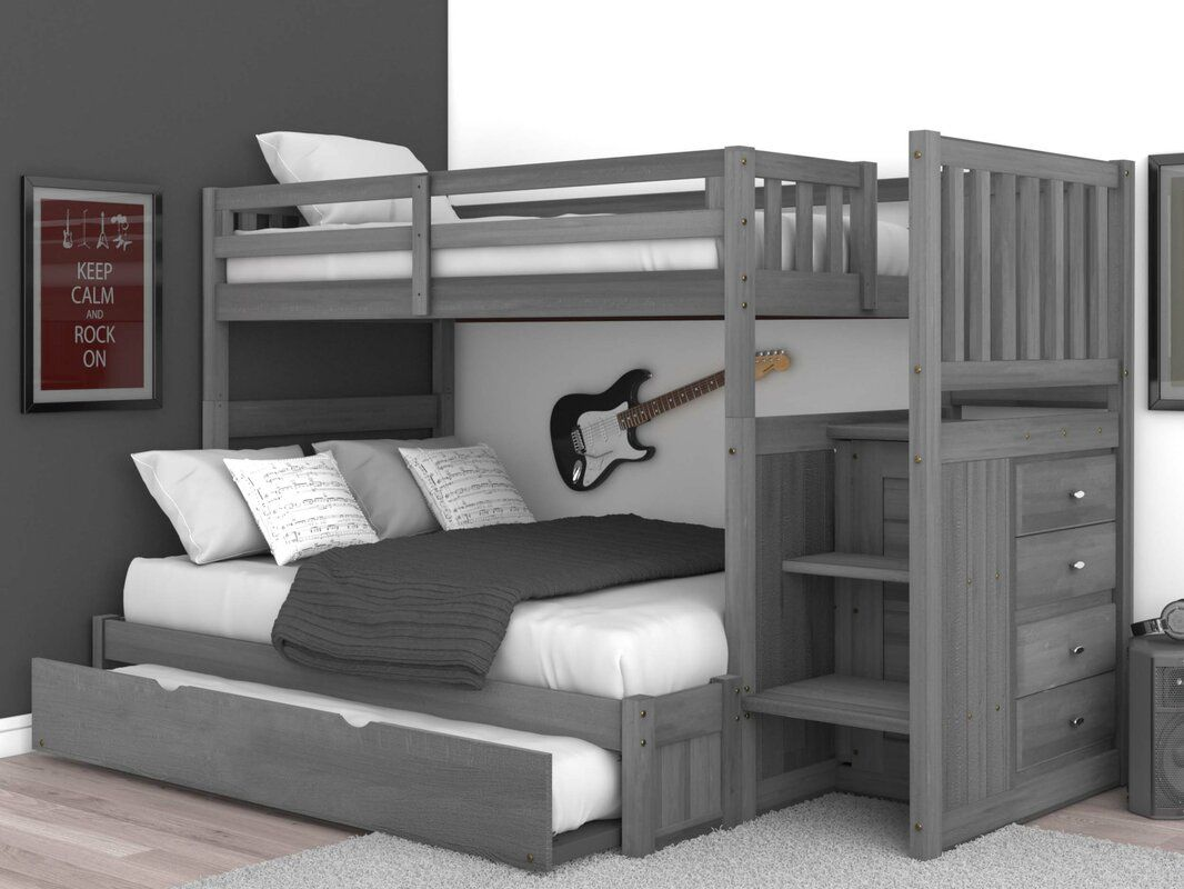 Sandberg Bunk Bed With Trundle Bunk Bed With Trundle Bunk Bed
