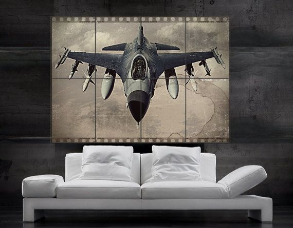 F 16 Fighting Falcon Us Air Force Fighter Jet By Favoriteposters Air Force Fighter Jets F 16 Fighting Falcon Fighter Jets