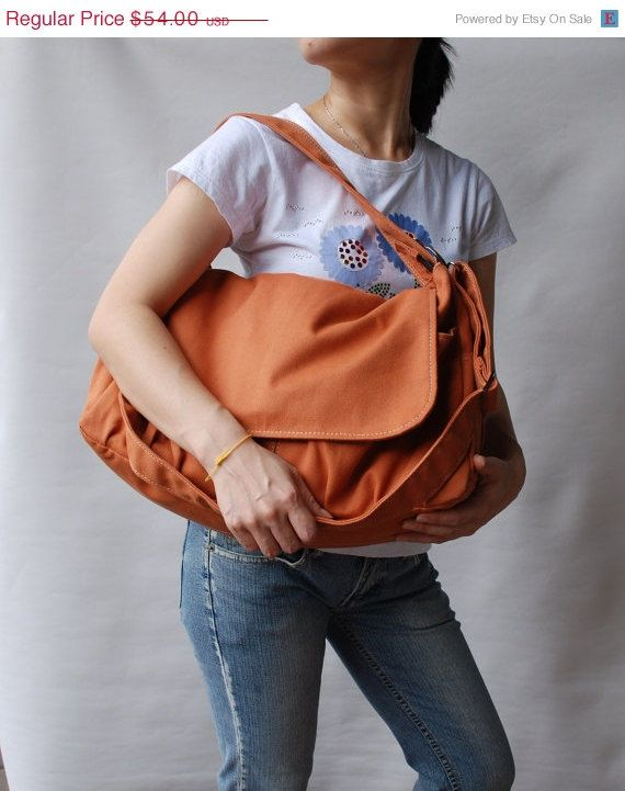 BACK To SCHOOL SALE - Pico in Pumpkin (Water Resistant) Messenger Bag    Tote   Diaper bag   Women   Laptop   Handbag   School Bag   Shoulder on  Etsy 24e280c693882