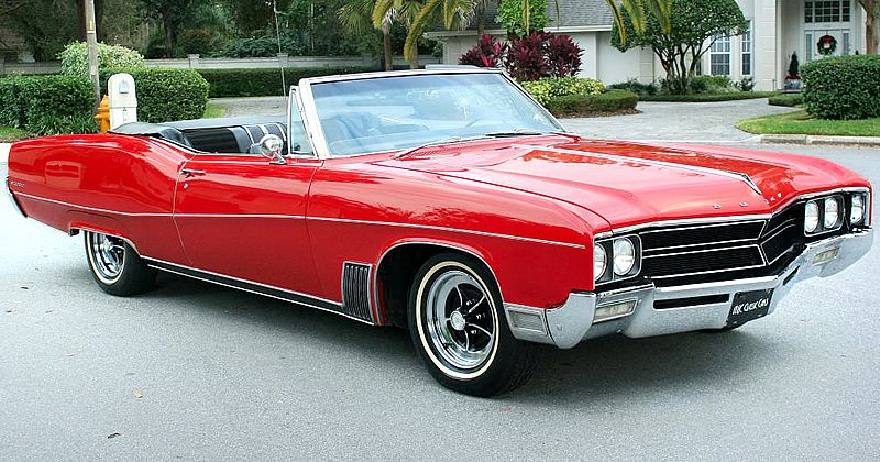 1967 Buick Wildcat Convertible - Apple Red - NICE! | Paul