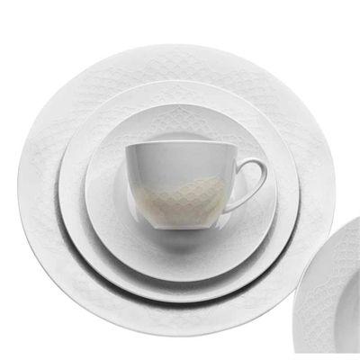 cool Royal Hamam Fez White 4 place dinner set