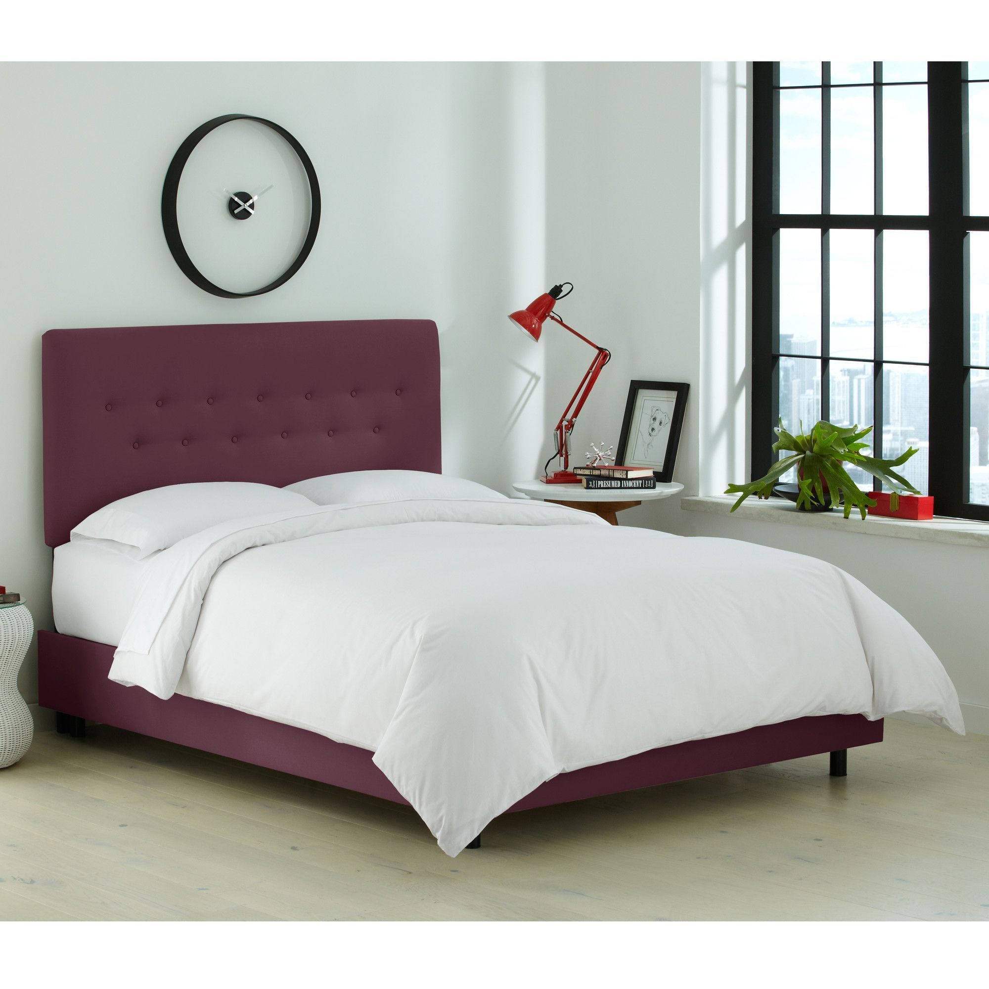 Keele Upholstered Standard Bed Bed sizes, Bed, Panel bed