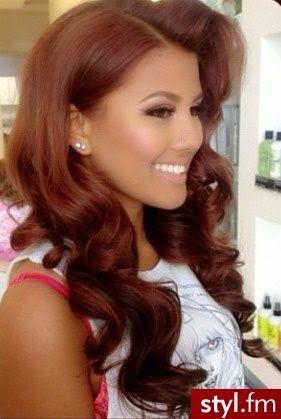 Dark Auburn Hair Color On Black Women Natural Hair Hair Auburn