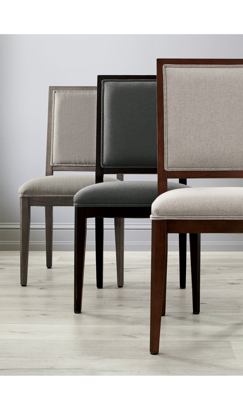 Sonata pinot lancaster grey dining side chair in products