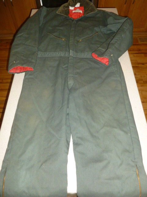 walls blizzard pruf mens vintage insulated coveralls work on walls coveralls id=91884