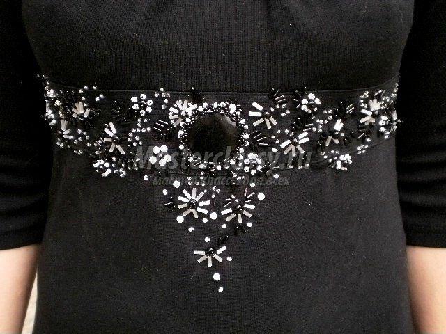 Узоры вышивки бисером стразами