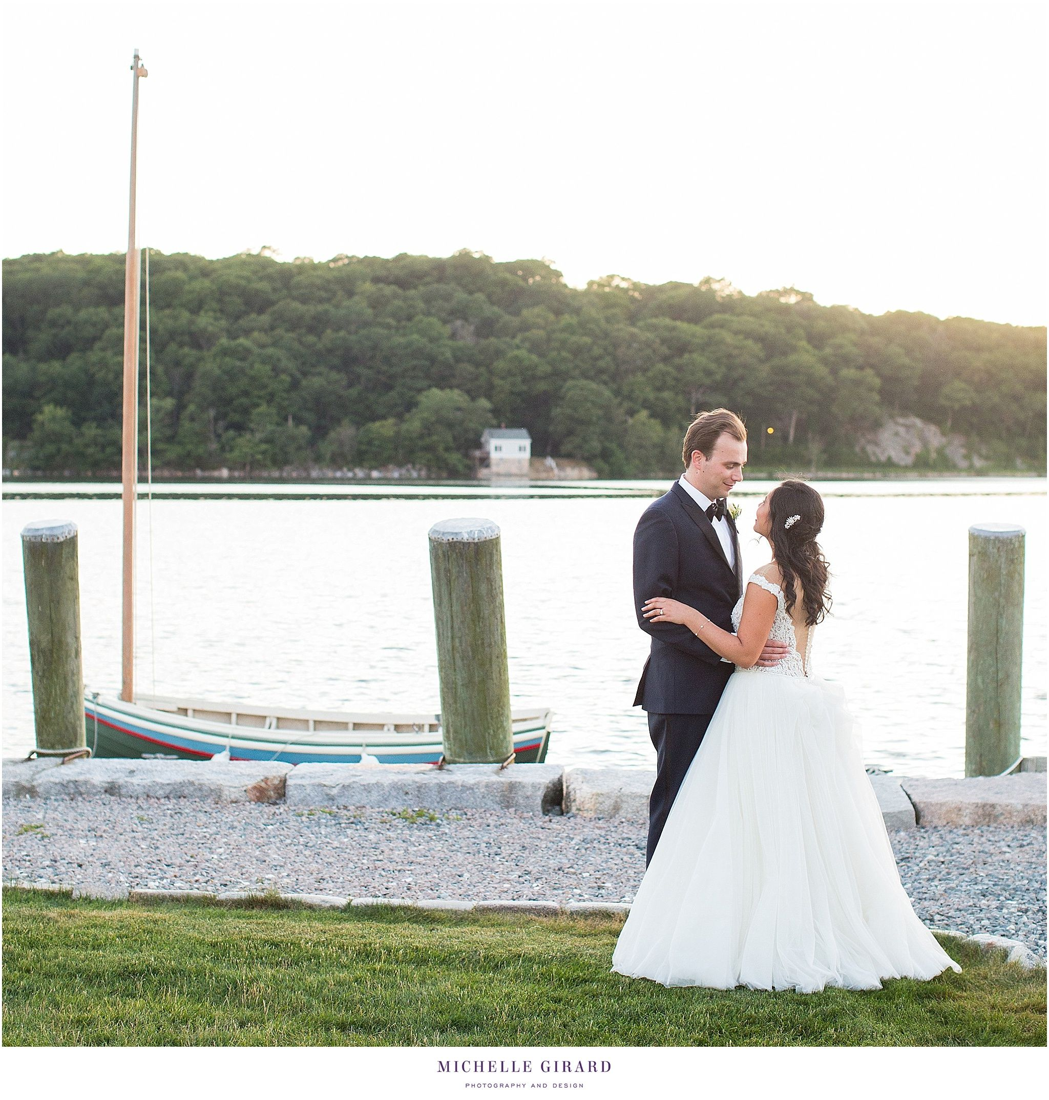 july oceanside wedding at mystic seaport :: latitude 41