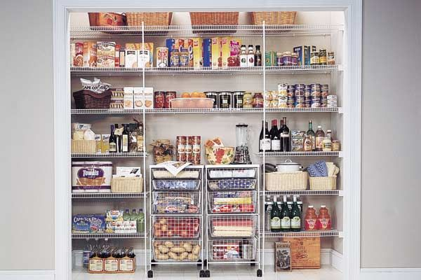 Kitchen Pantry Wire Shelving System Make The Most Of Your Existing E With Shelves