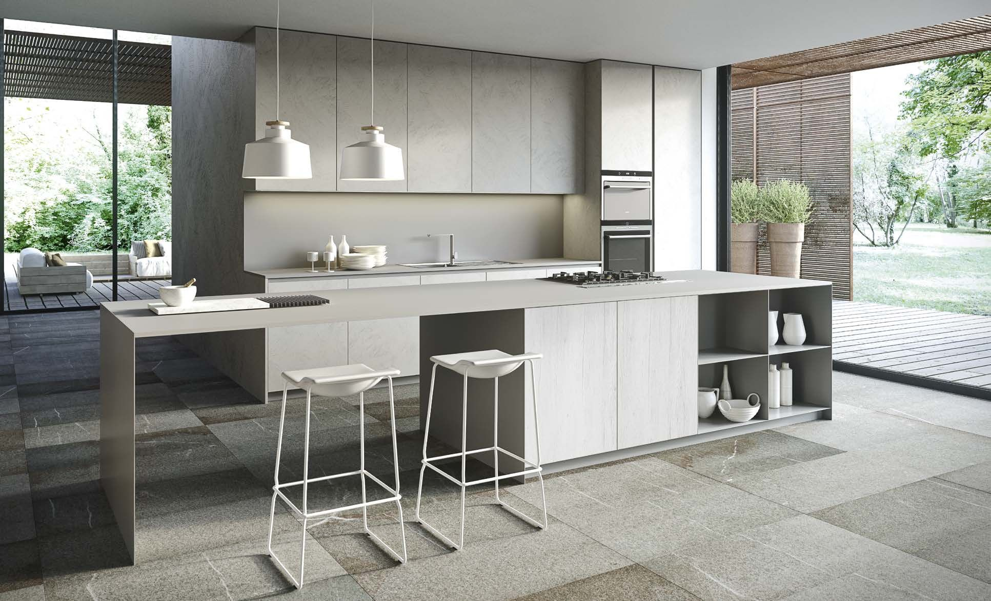 The Cut Kitchen - view of the whole #kitchen. #design ...