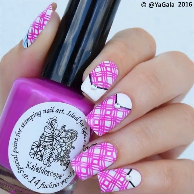 Cute Nails By Yagala See More Amazing Nail Art Videos With The