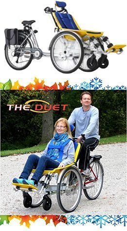 The Duet Wheelchair Bicycle Tandem Holiday Sale Eric