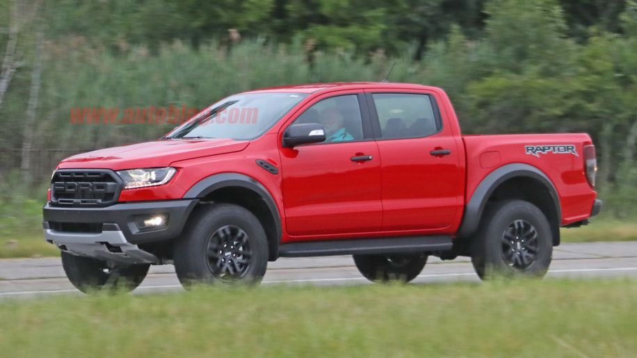 2019 Ford Ranger Raptor Pickup Looks Rad In Red Ford Ranger