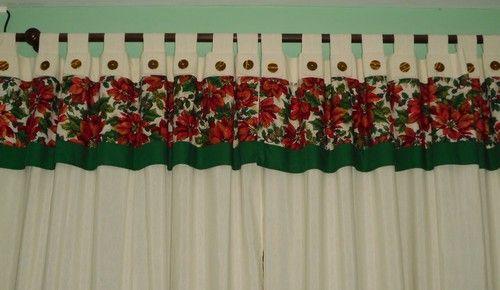 cortinas navideñas - Google keresés navidad Pinterest Cortinas