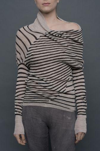 HUMANOID, DEKA DAZZLED ALPACA: best name. #humanoid #knitwear