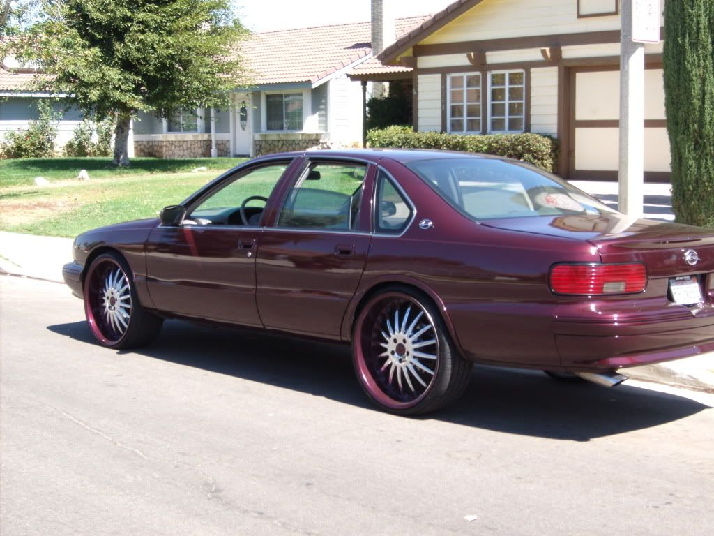 96 chevy impala h