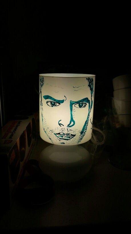 #lampadapersonalizzata # jensen #supernatural