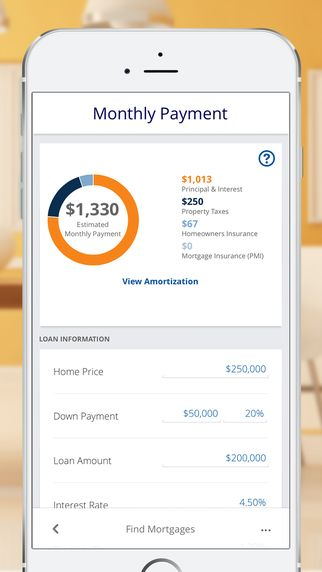 Iphone Screenshot   Banking  Ui    Mortgage Payment