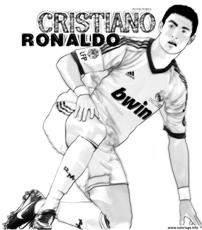 11 Magnifique Coloriage De Ronaldo Stock Coloriage A Imprimer Coloriage Ronaldo