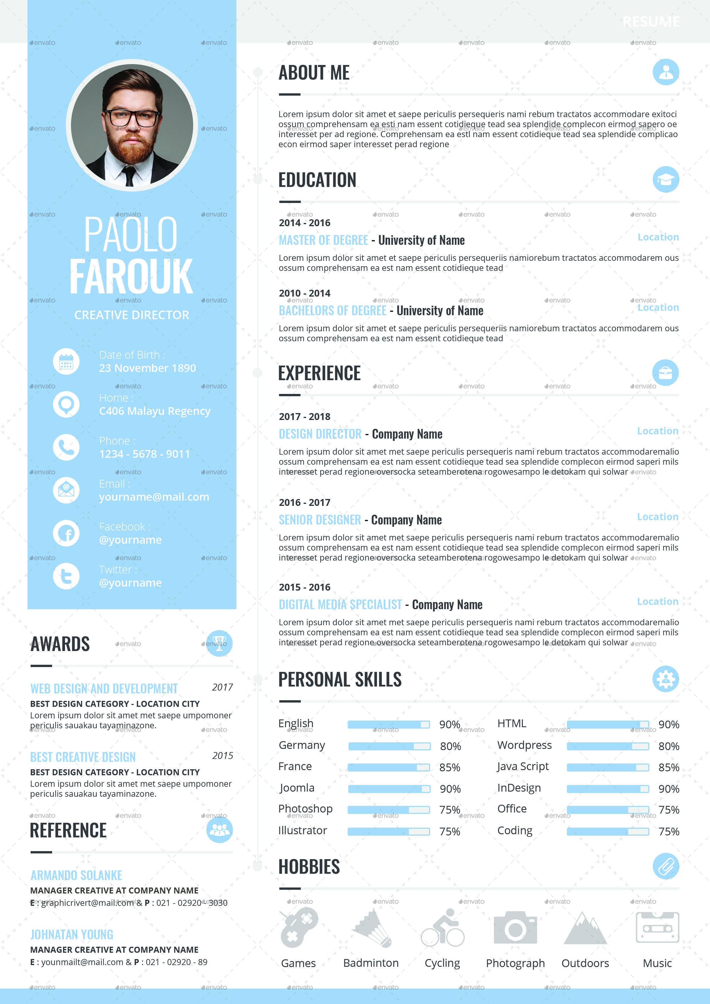 Buy creative resume
