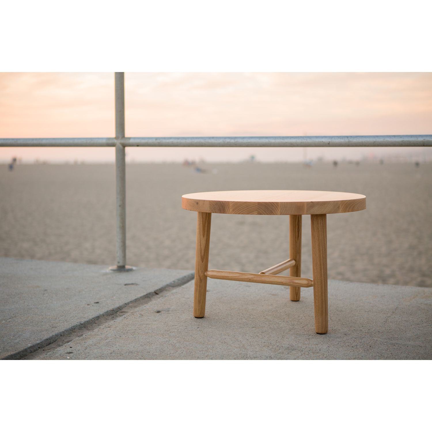 """Milking Table LAX Series - 5""""Dia.  Table, Side table, Outdoor decor"""