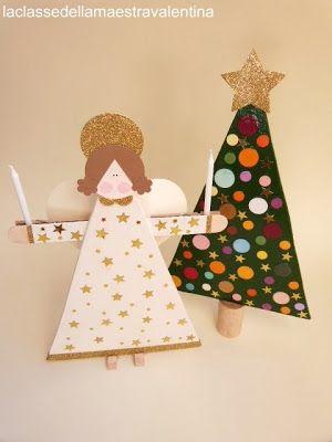 Lavoretti Di Natale Maestra Valentina.La Classe Della Maestra Valentina Lavoretti Di Natale